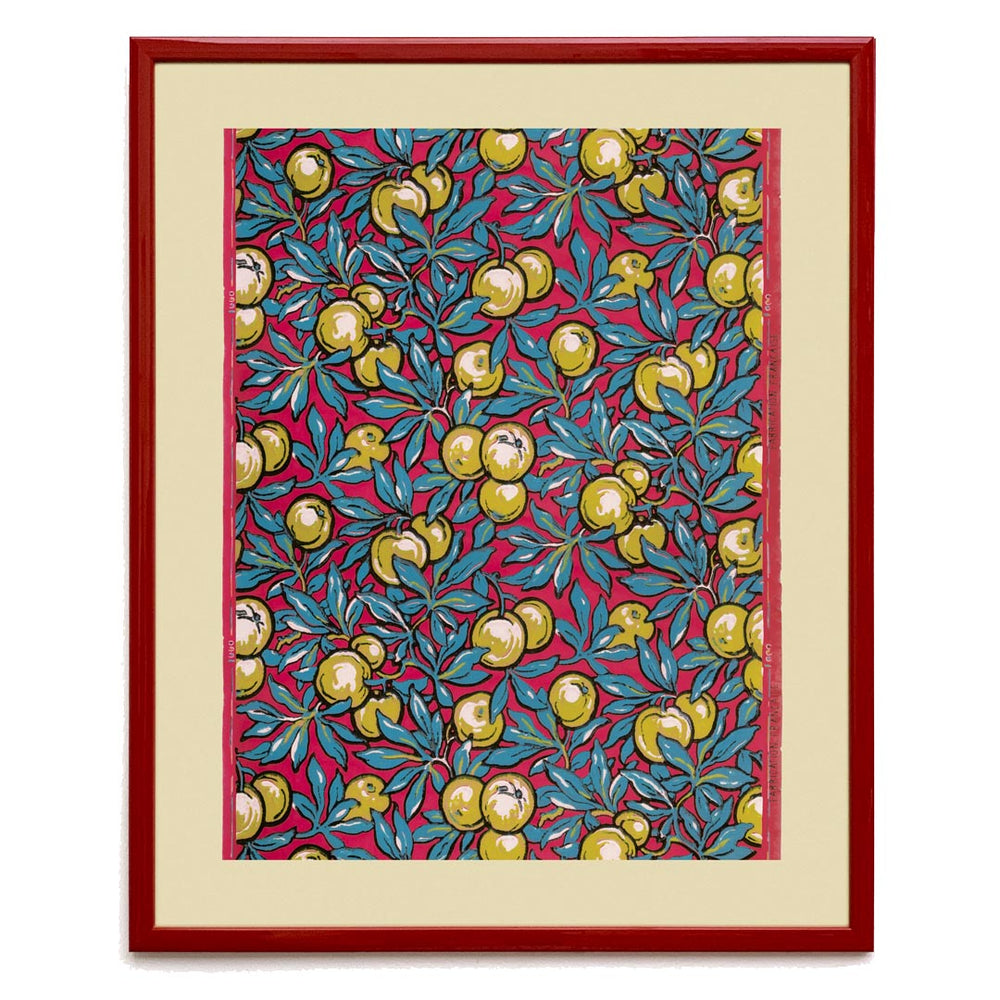 Mongiardino Lime Tree Framed Wallpaper