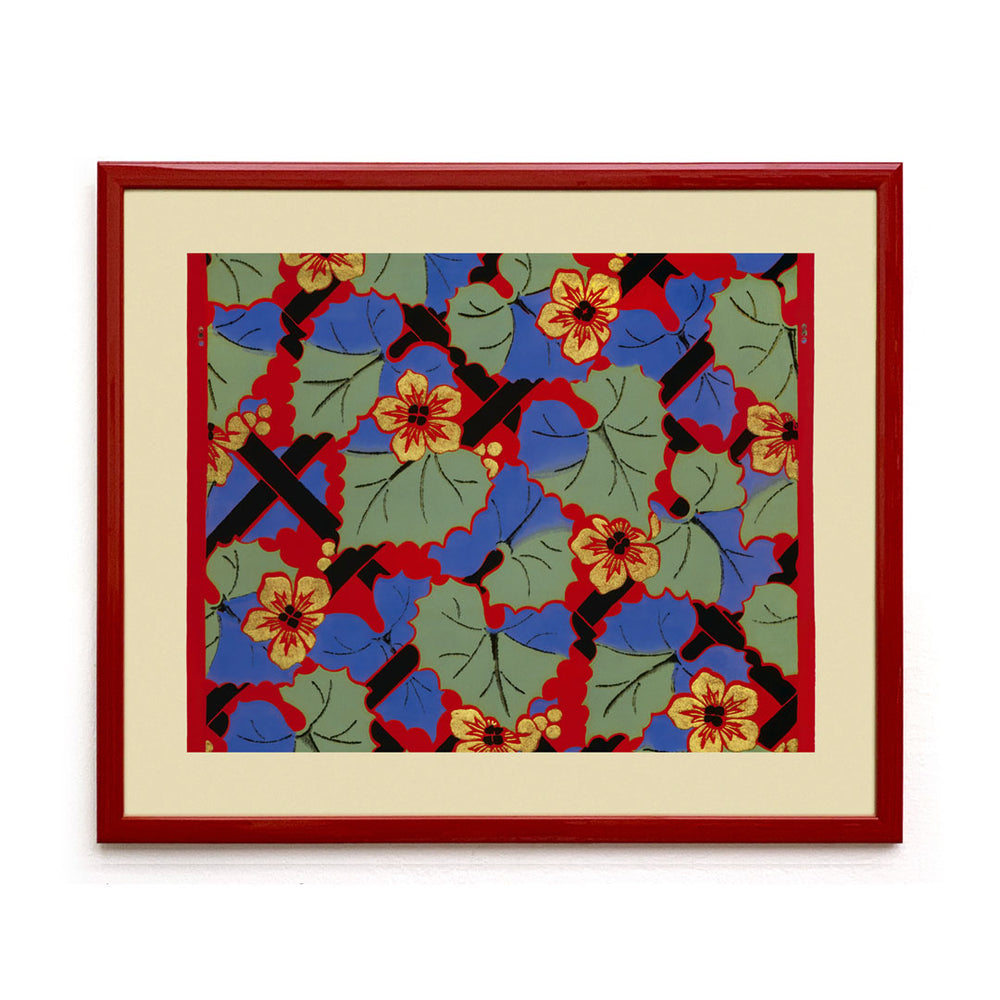 Mongiardino Vine Framed Wallpaper
