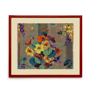 Load image into Gallery viewer, Mongiardino Wisteria Framed Wallpaper