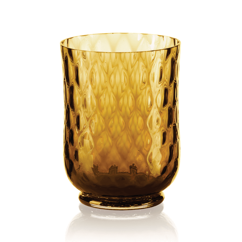 Balloton Water Glass Amber