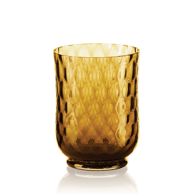 Balloton Wine Glass Amber
