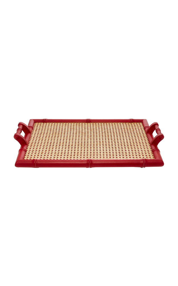 Folding Tray Table Red