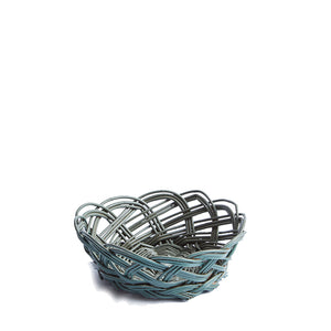 Mini Wicker Bread Basket