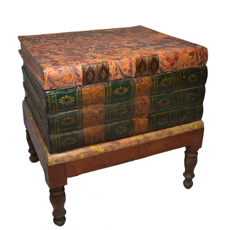 Faux Book Chest