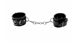 Premium Black Leather Cuffs