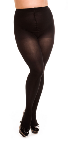 Smooth Black Sapphire Tights