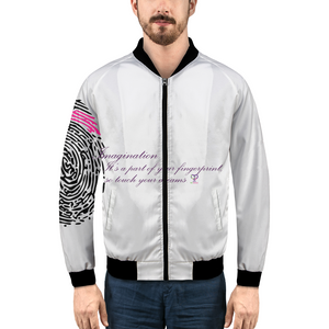 Imagination... A Women's Fingerprint Men's Bomber Jacket