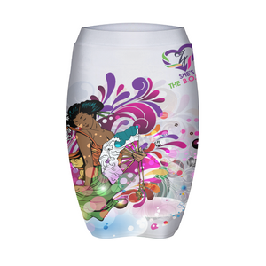 She's The B.O.S.S. Geisha Isn't She Lovely Womens Mini Skirt