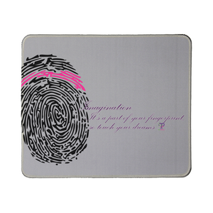 Imagination... A Women's Fingerprint Mouse Pad