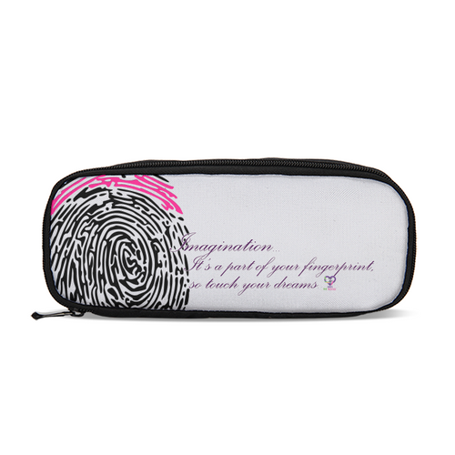 Imagination... A Women's Fingerprint Pencil Case