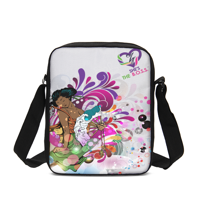 She's The B.O.S.S. Geisha Isn't She Lovely Messenger Pouch