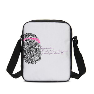 Imagination... A Women's Fingerprint Messenger Pouch