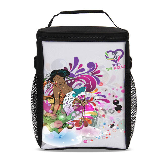 She's The B.O.S.S. Geisha Isn't She Lovely Insulated Lunch Bag II