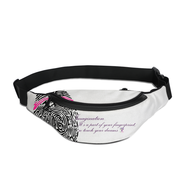 Imagination... A Women's Fingerprint Crossbody Sling Bag