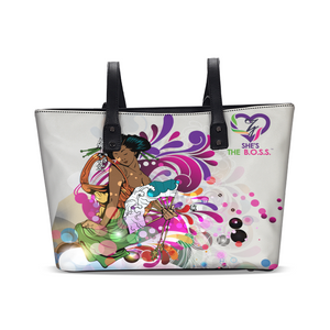 She's The B.O.S.S. Geisha Isn't She Lovely Stylish Tote