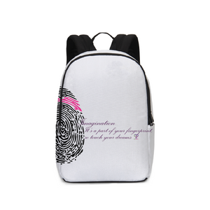 Imagination... A Women's Fingerprint Large Backpack