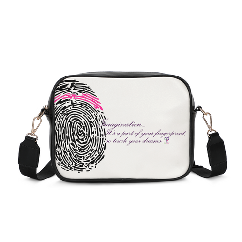 Imagination... A Women's Fingerprint Crossbody Bag