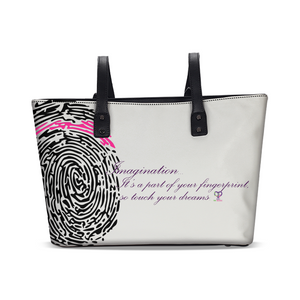 Imagination... A Women's Fingerprint Stylish Tote