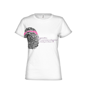 Imagination... A Women's Fingerprint Womens All-Over Print  T-Shirt