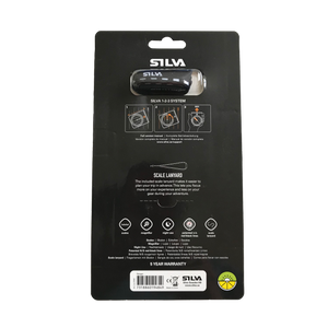 Silva RANGER compass in it's packaging back perspective