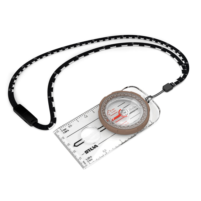 Compass Silva Ranger Global with scale lanyard