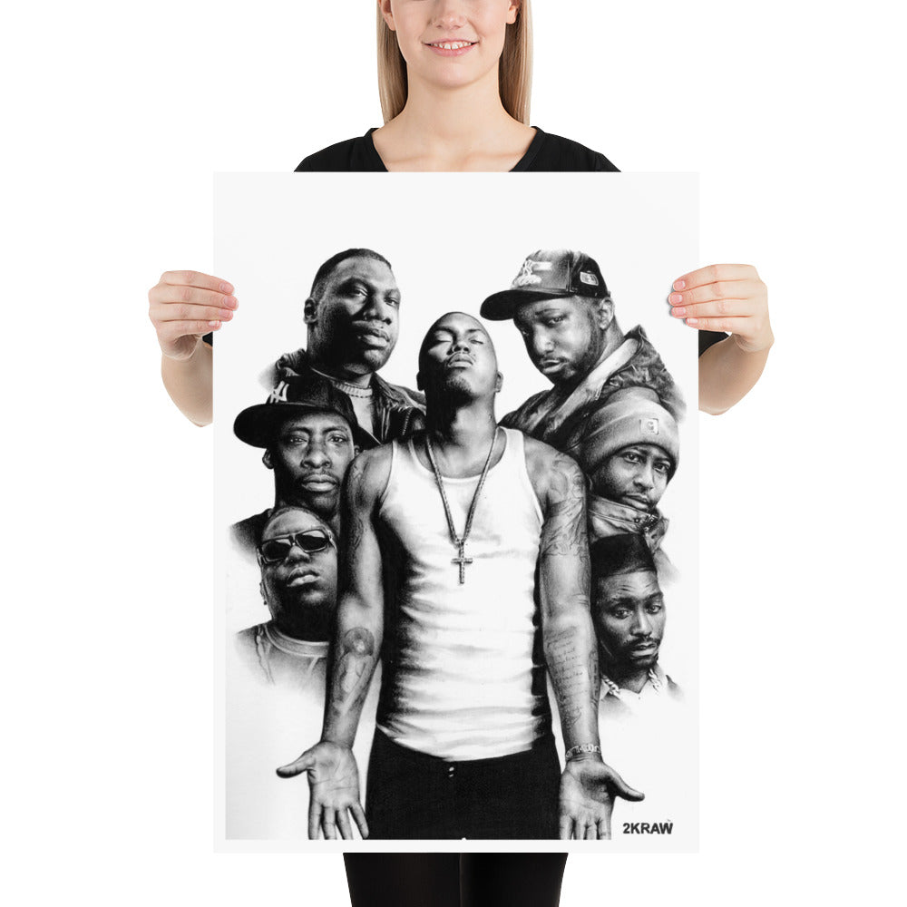 HIP HOP LEGEND Poster - 2KRAW