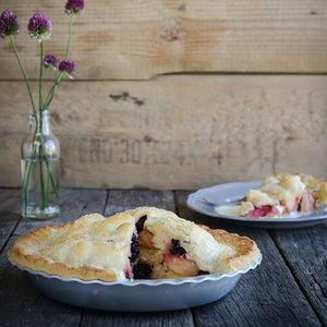 Apple and Redcurrant Pie