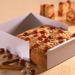 Cinnamon Cherry and Almond Cake