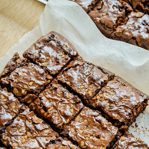 WALNUT FUDGE BROWNIES