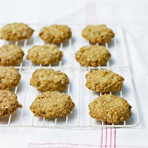 Delia's Ginger Oat Biscuits for Silverwood Bakeware