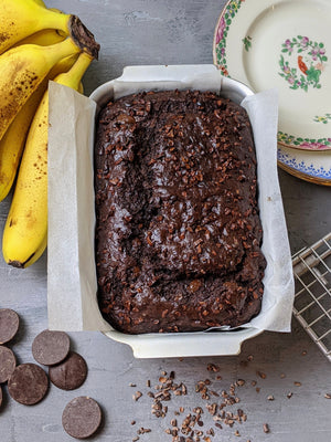 PETA LEITH'S DOUBLE CHOCOLATE BANANA BREAD