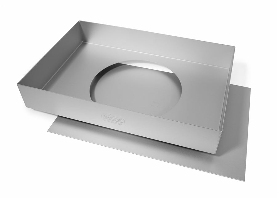 Silverwood bakeware  12x8x2 inch Traybake Tin with Loose Base