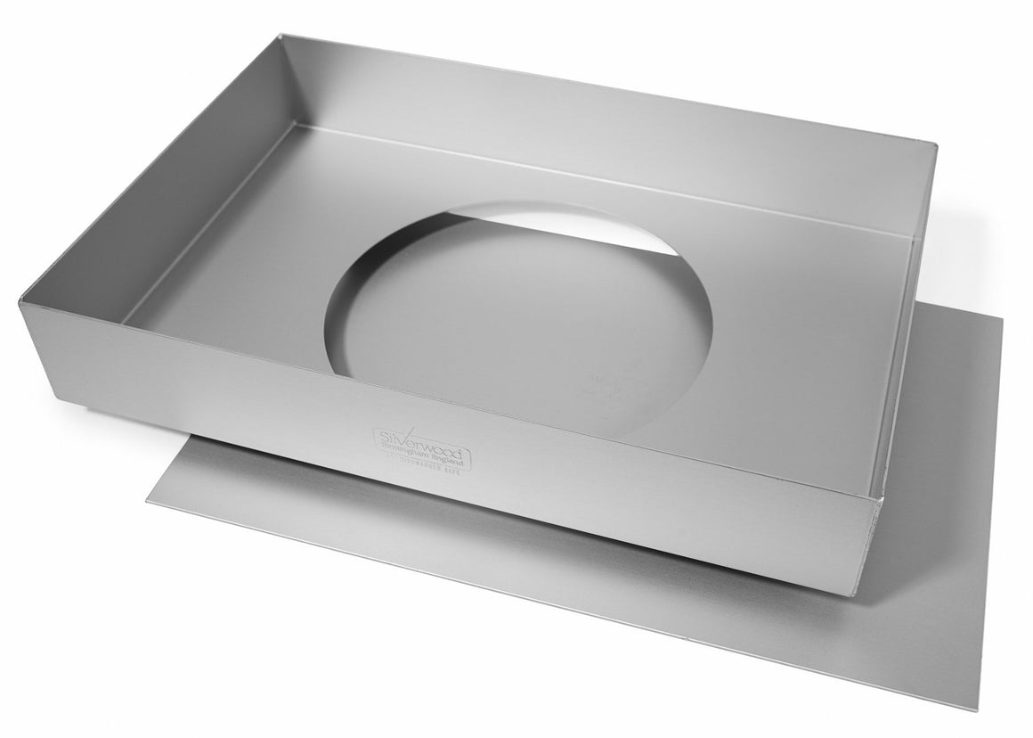 13x9x2 INCH TRAYBAKE TIN, LOOSE BASE