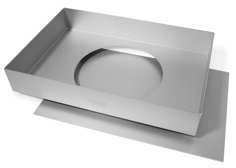 13x9x2 inch Traybake Tin with Loose Base