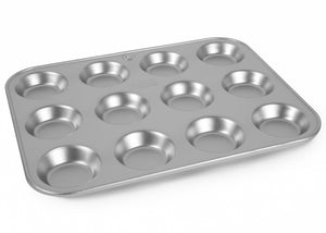 12x9 inch Twelve Hole Tart Tray
