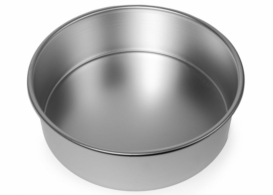 10x3 1/4 inch Round Cake Tin with Solid Base