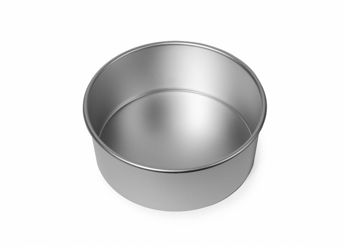 7x3 inch Round Cake Tin with Solid Base
