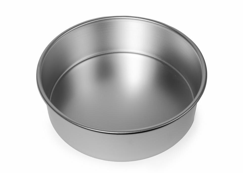 9x3 inch Round Cake Tin with Solid Base