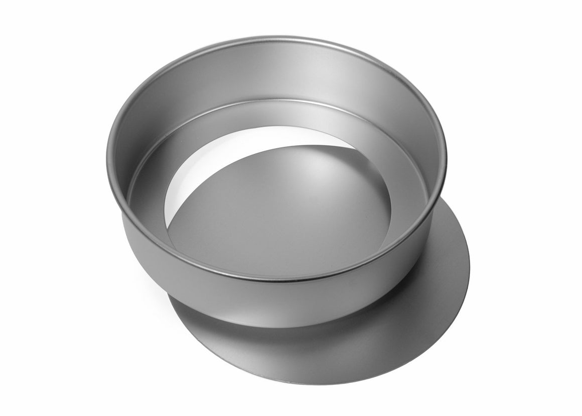 8x2 1/4 INCH ROUND DEEP SANDWICH TIN, LOOSE BASE