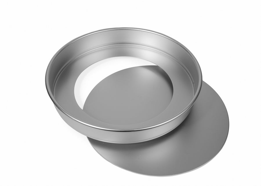 9x1 1/2 INCH ROUND SANDWICH TIN, LOOSE BASE