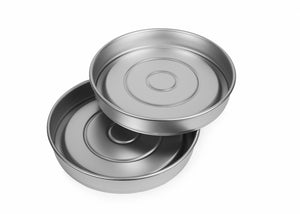 Silverwood bakeware  8 inch Round Victoria Surprise Set of 2 Tins, 4 Bases