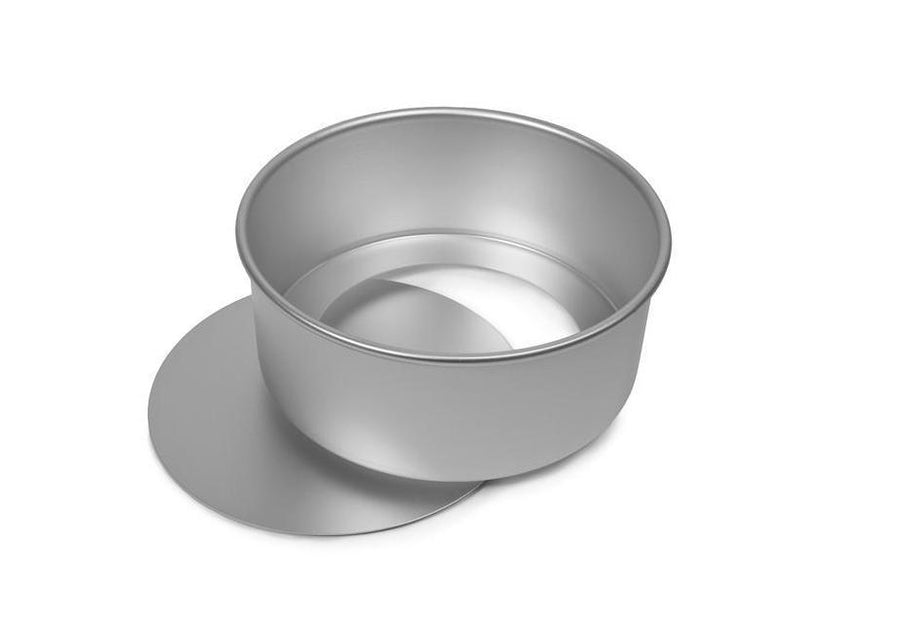8x3 INCH ROUND CAKE TIN, LOOSE BASE