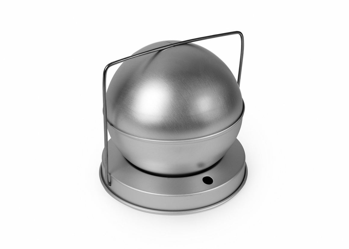 4 INCH SPHERICAL PUDDING MOULD
