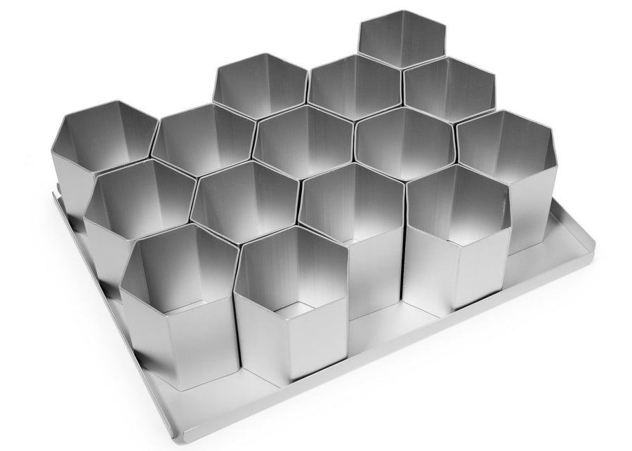 15 PIECE 2 1/2 INCH HEXAGON MULTI MINI SET