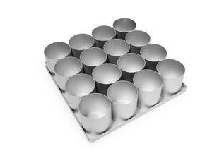 Silverwood bakeware  16 Piece 2 1/2 inch Round Multi Mini Set