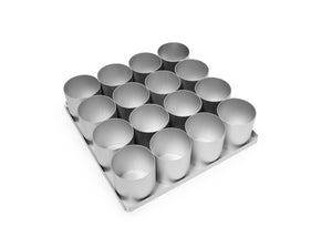 Silverwood bakeware  16 Piece 2 inch Round Multi Mini Set