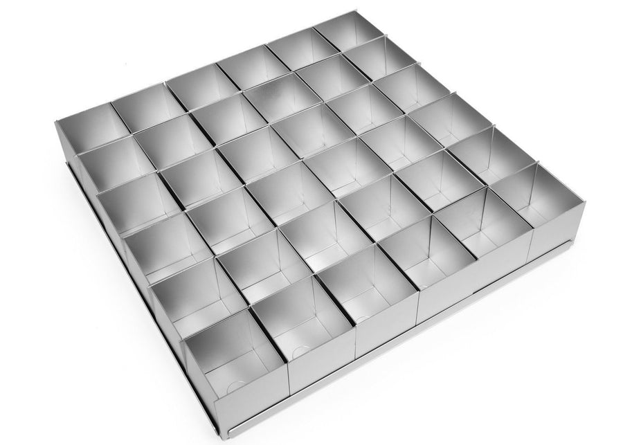 Silverwood bakeware  36 Piece 2 inch Square Multi Mini Set