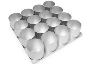 Silverwood bakeware  16 Piece 3 inch Round Multi Mini Set