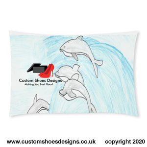 Dolphins 3-Piece Bedding Set