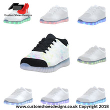Light Of Colours Up Casual Womens Shoes (046)